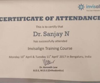 Dr Sanjay Best dentist for invisible braces invisalign