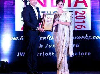 best orthodontist in bangalore award dr sanjay