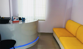 l v dental square lobby